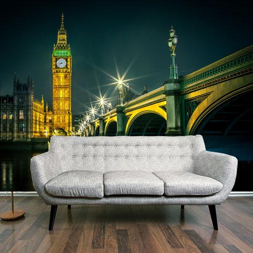 Vlies fotobehang Big Ben Londen