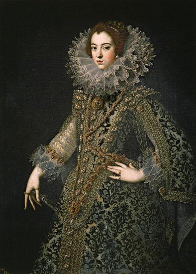 'Koningin Elizabeth van Bourbon' van Diverse Meesters – 85×115 Aluminium Dibond